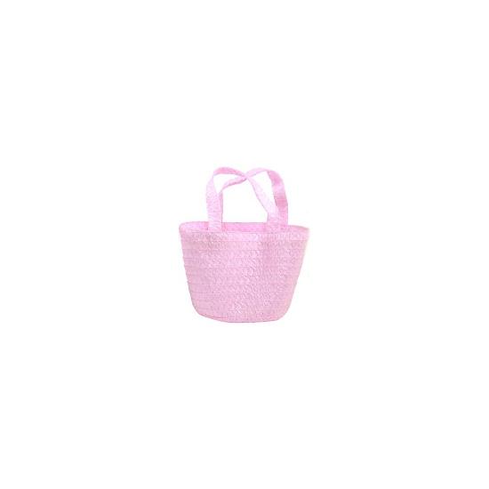 Pasen mandje roze 13 cm