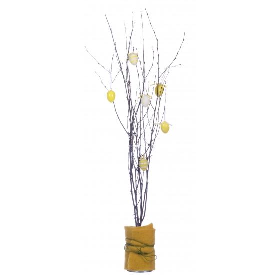 12x Bruine paastakken 75 cm berkentakken/kunsttakken