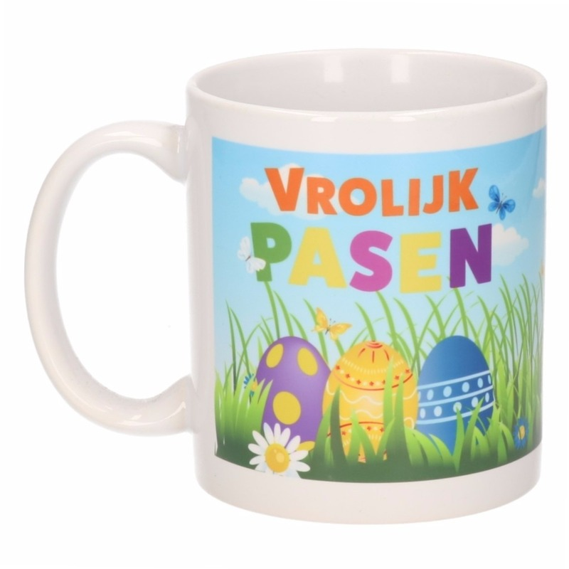 Koffiemok Pasen thema 300 ml