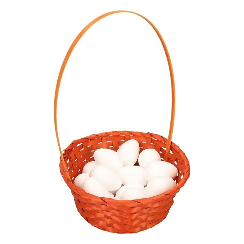 Paasmand met eieren